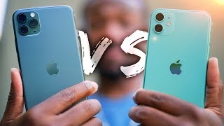 Download iPhone 11 vs iPhone 11 Pro Hands On!  - What's the Difference? Mp3 and Videos
