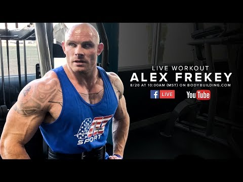 Biceps & Triceps Workout for Mass | Alex Frekey