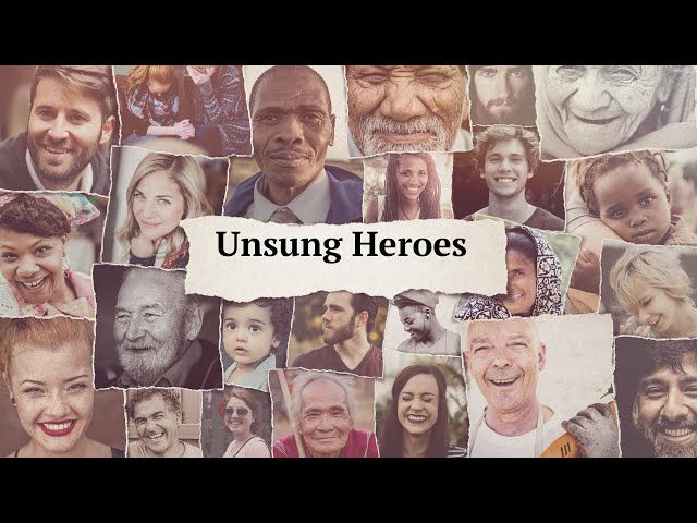 Unsung Hero - Stand up for Justice