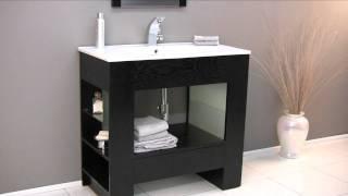 Fresca Egoista Modern Bathroom Vanity W/ Wenge Wood Finish - Fvn3005wg