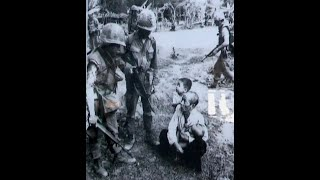 In commemoration of the My Lai massacre in Vietnam