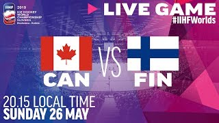 Canada-Finland | Gold Medal Game | Full Game | 2019 IIHF Ice Hockey World Championship