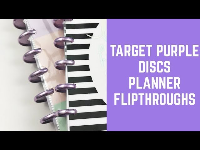 target-purple-disc-planner-flipthroughs