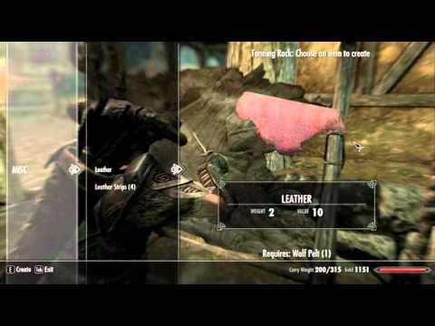 skyrim how to get iron ore fast