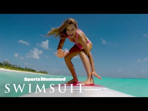 Join Chase Carter Surfing & Dive In To The Bahamas | Swim Adventure | Sports Illustrated Swimsuit