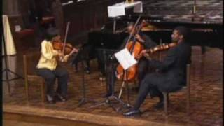 Coleridge-Taylor Perkinson: Mvt. for String Trio