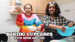 baking cupcakes with moon   clickfortaz