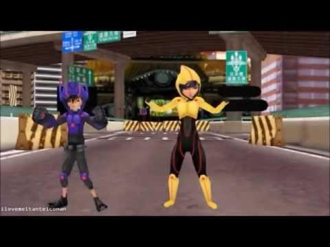 Big hero 6 gogo and baymax - 3 1