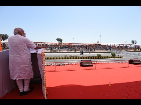 PM Modi addresses a gathering in DIU, Gujarat