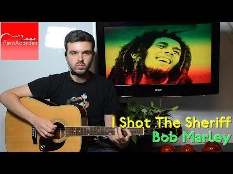 Como Tocar I SHOT THE SHERIFF de BOB MARLEY en Guitarra Acústica