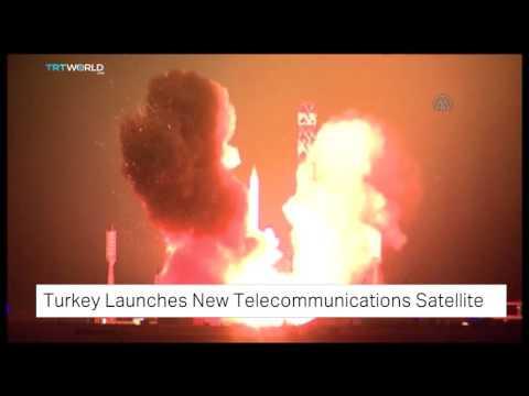 Turkey launches new telecommunications satellite