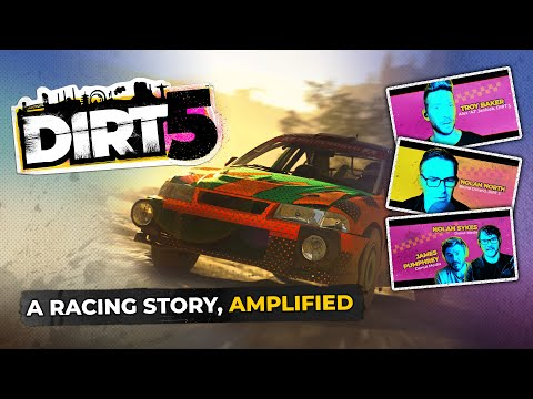 DIRT 5   Career Mode Insight feat. Troy Baker, Nolan North   Xbox Series X, PS5, PC