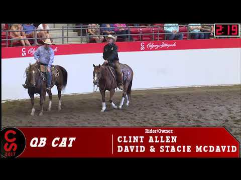 2017 Calgary Stampede Cutting Horse Competition Open Champion