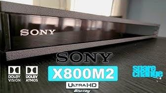 SONY UBP-X800M2 4K Blu-ray Player Review & Setup | Sony's Best!