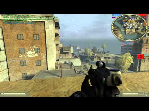 Battlefield 2 Special Forces HD Multiplayer Gameplay as SpecOps by Manguse