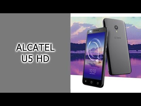 Обзор смартфона Alcatel U5 HD