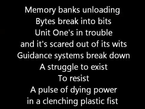 Rush-The Body Electric (Lyrics)