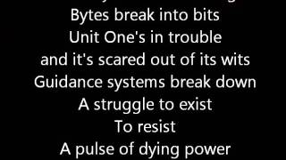 Rush-The Body Electric (Lyrics)