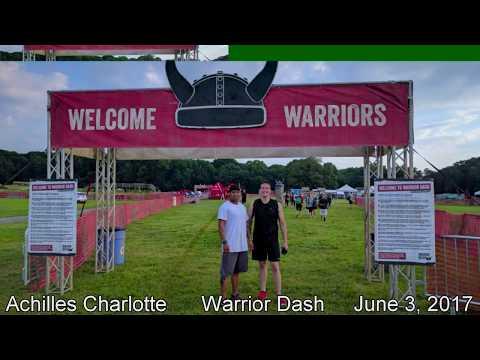 Warrior Dash Run - Huntersville, NC - June 3, 2017