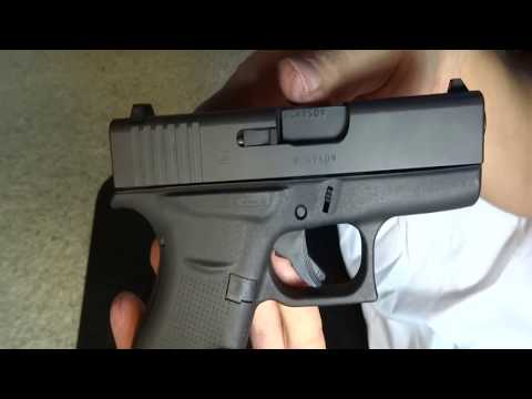 Cleaning a Glock 43 (9mm)