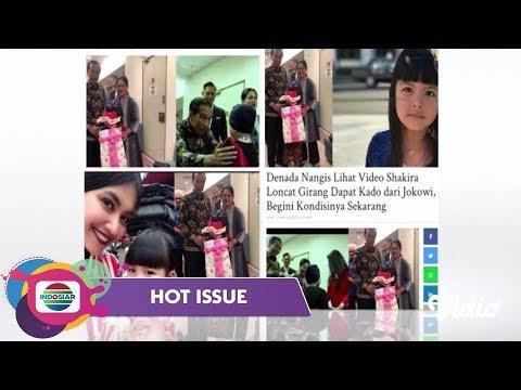 BAHAGIANYA!! SHAKIRA PUTRI DENADA Di Jenguk PRESIDEN JOKOWI Dan IBU IRIANA – Hot Issue Pagi