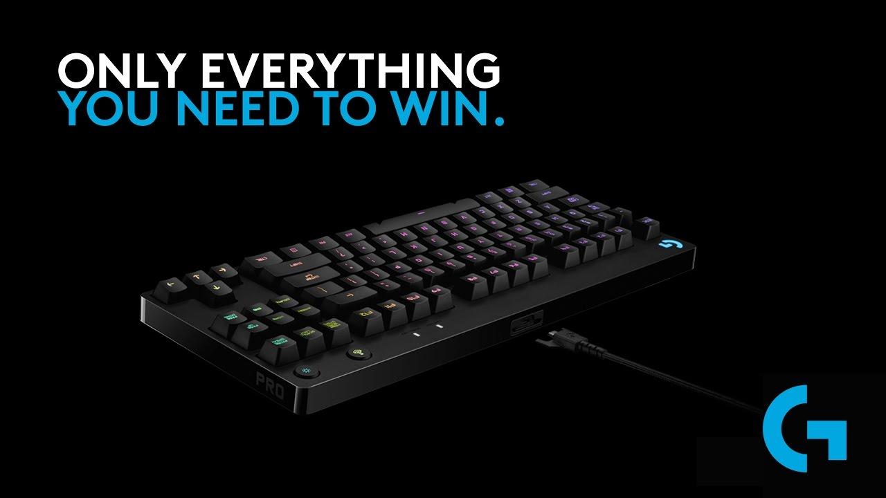Logitech G Pro Gaming Keyboard- eSports Pros [US]