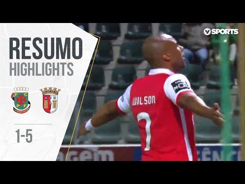 Highlights   Resumo: Paços Ferreira 1-5 Braga (Liga 17/18 #30)