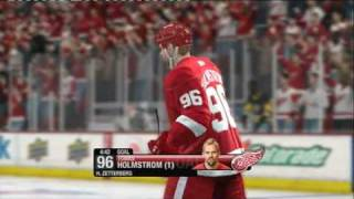 NHL 09 (PS3) PITTSBURGH PENGUINS vs DETROIT RED WINGS