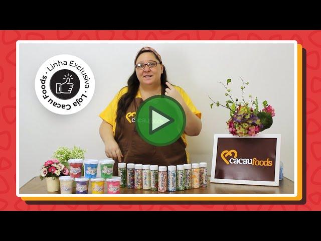 Conheça nossa linha Sprinkles e Colors - Cacau Foods