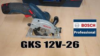 Sierra circular Bosch GKS 12V-26