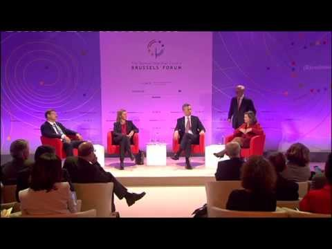 Federica Mogherini at The German Marshall Fund's Brussels Forum