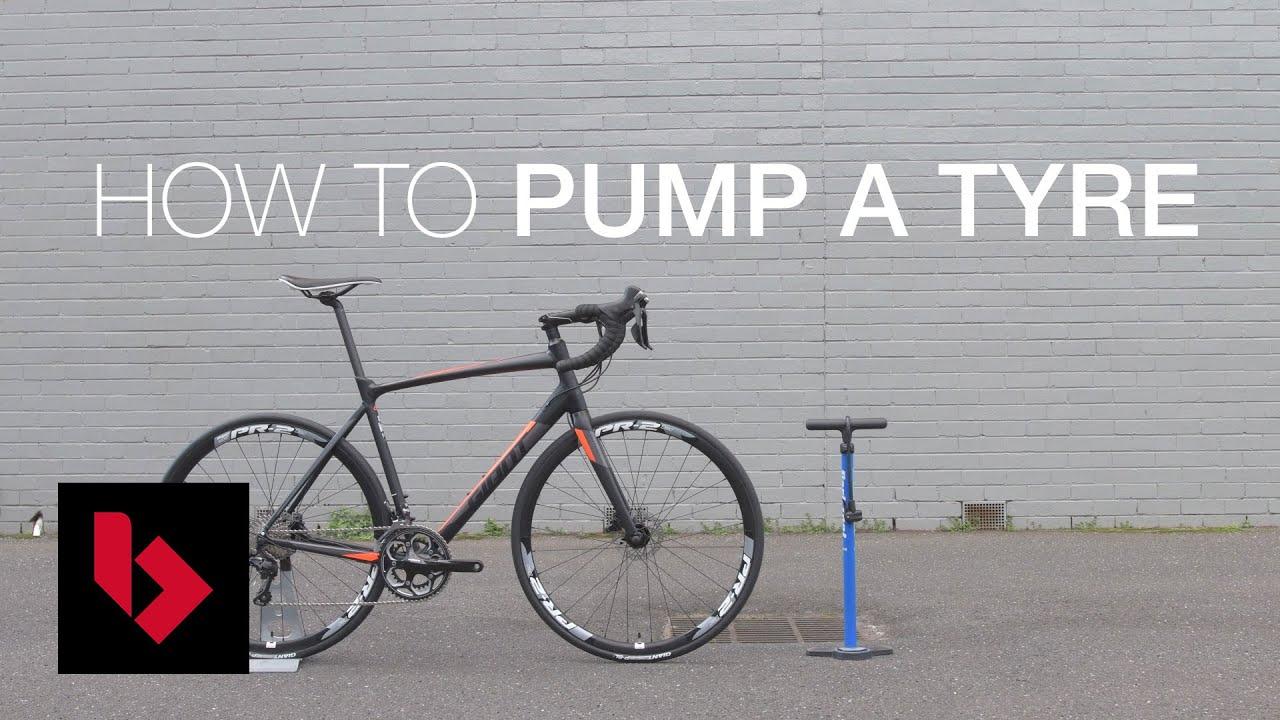 How To Pump Up A Bike Tyre Bikeexchange Workshop Series Youtube