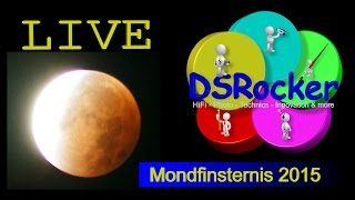 LIVE: Totale Mondfinsternis 28.09.2015 in Germany