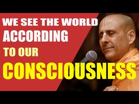 WE SEE THE WORLD THROUGH OUR CONSCIOUSNESS | HH RADHANATH SWAMI