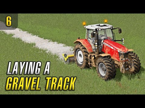 LAYING A GRAVEL TRACK | PGR BRUZDA | Episode 6