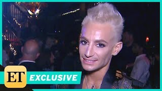 frankie grande gushes over sister arianas engagement to pete davidson exclusive
