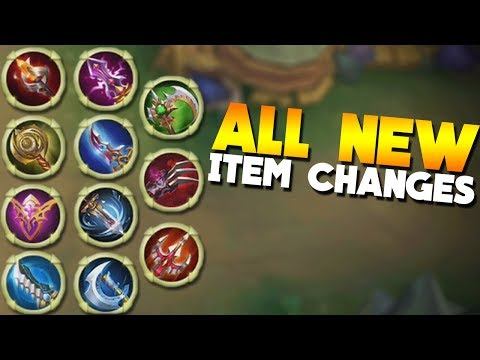 Mobile Legends NEW ITEMS DETAILS!