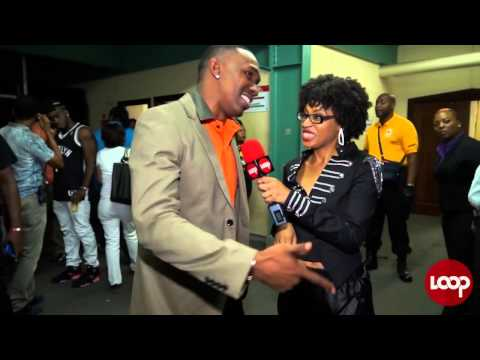 Dwayne Bravo in the Loop at Machel Monday