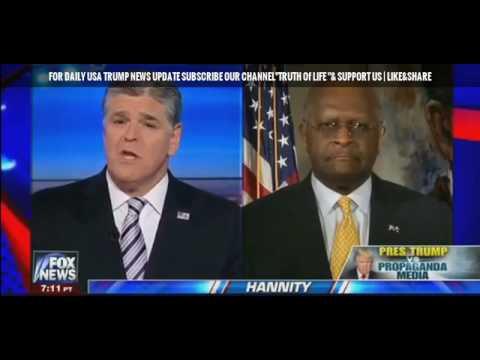 Fox News - Hannity 2/18/17 February 18, 2017 President Trump Propaganda Media