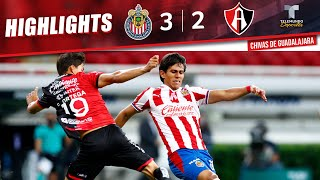 Highlights & Goals | Chivas vs. Atlas 3-2 | Telemundo Deportes