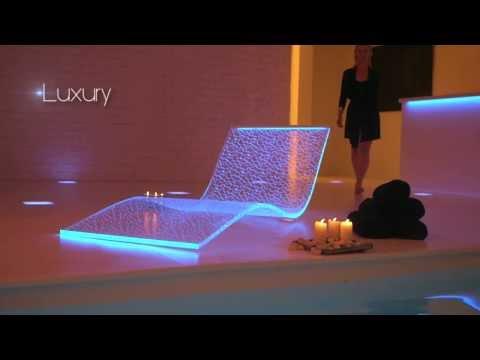 Tumbona Acrilica Con Luz Lumiluxe De Bemoss Europa Youtube