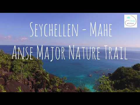 Beach Guide Seychelles by drone - Anse Major (Part. 5)