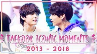 Video Taekook Iconic Moments : 2013 - 2018 download MP3, 3GP, MP4, WEBM, AVI, FLV Agustus 2018