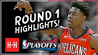 Jrue Holiday Full ROUND 1 Highlights vs Portland Trail Blazers | All GAMES - 2018 Playoffs