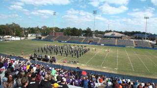 Erath High Band Performs at 2011 Sulphur High School Marching Festival 11/5/2011
