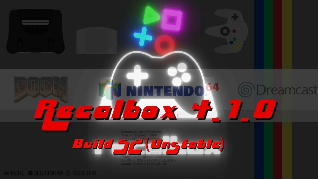 image recalbox 4.1
