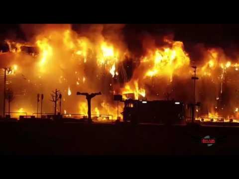Incendio Parco Stella Oderzo