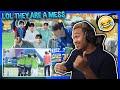 TREASURE MAP EP.16 ⚽️ 트레저 체육 몸개그 대회, ⚽️ EP.17 ⚽️ 평균 19세 아이돌의 운동실력 ⚽️ 팀킬작렬, 스파이는 누구? - REACTION