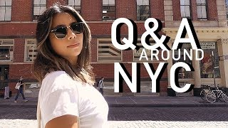 ANSWERING YOUR QUESTIONS AROUND NEW YORK CITY!