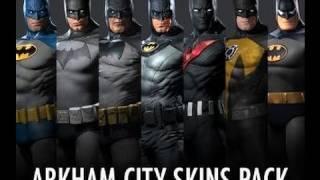 Batman Skins Pack - Batman: Arkham City